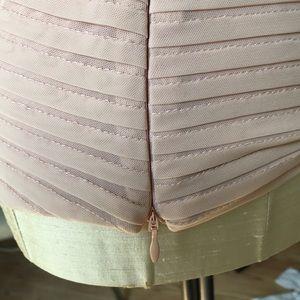 Cache Tops - Cache blush dress shell